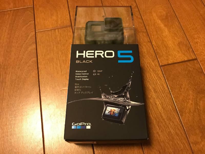 アクションカメラ Gopro HERO5