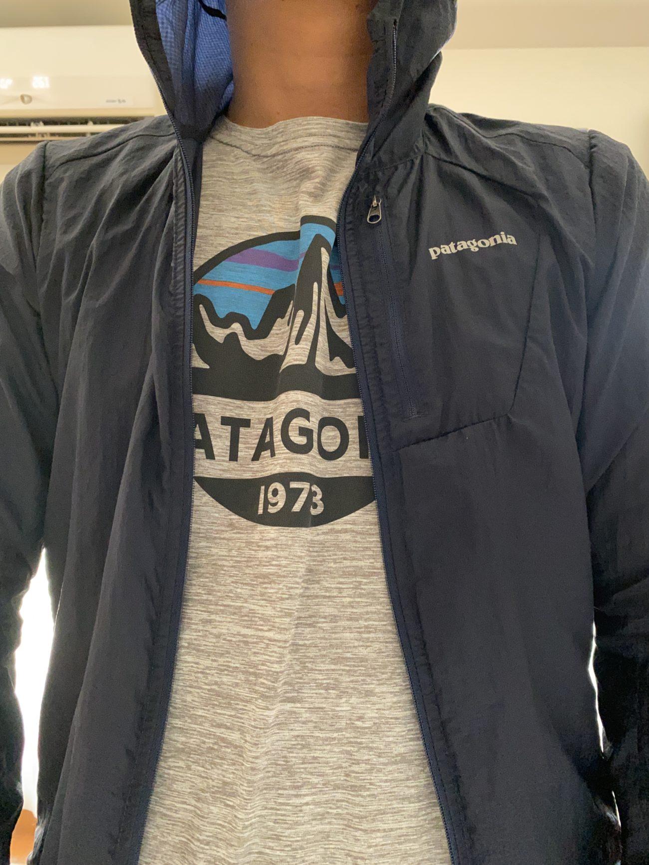パタゴニア「フーディニ」ジャケット