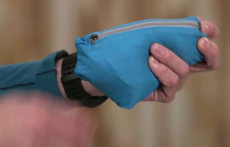 フーディニは手のひらサイズに収納できる