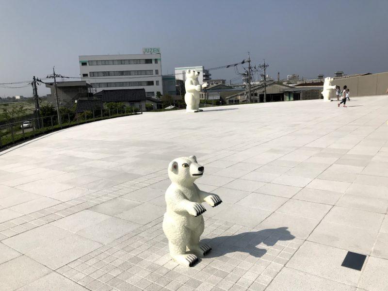 モチーフの熊さん