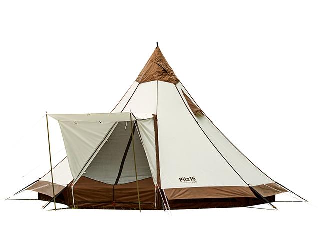 ワンポール型テント(ティピー型)