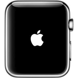 アップルマークが表示