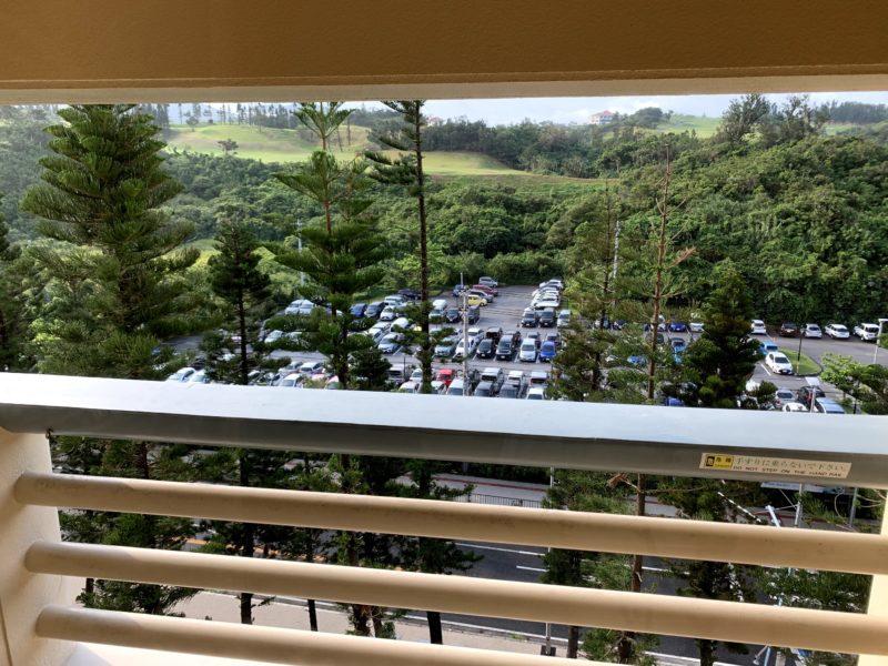 リザンシーパークホテル谷茶ベイの駐車場