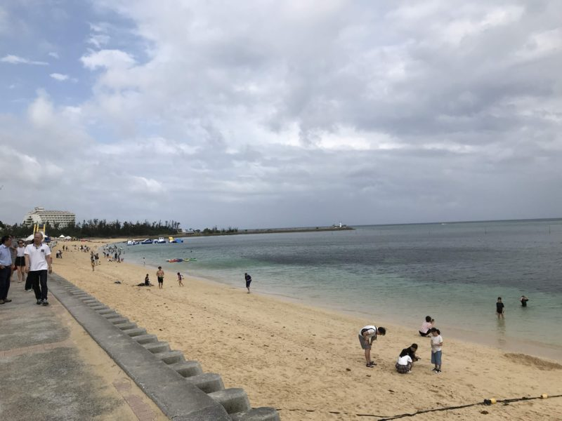 広いプライベートビーチ