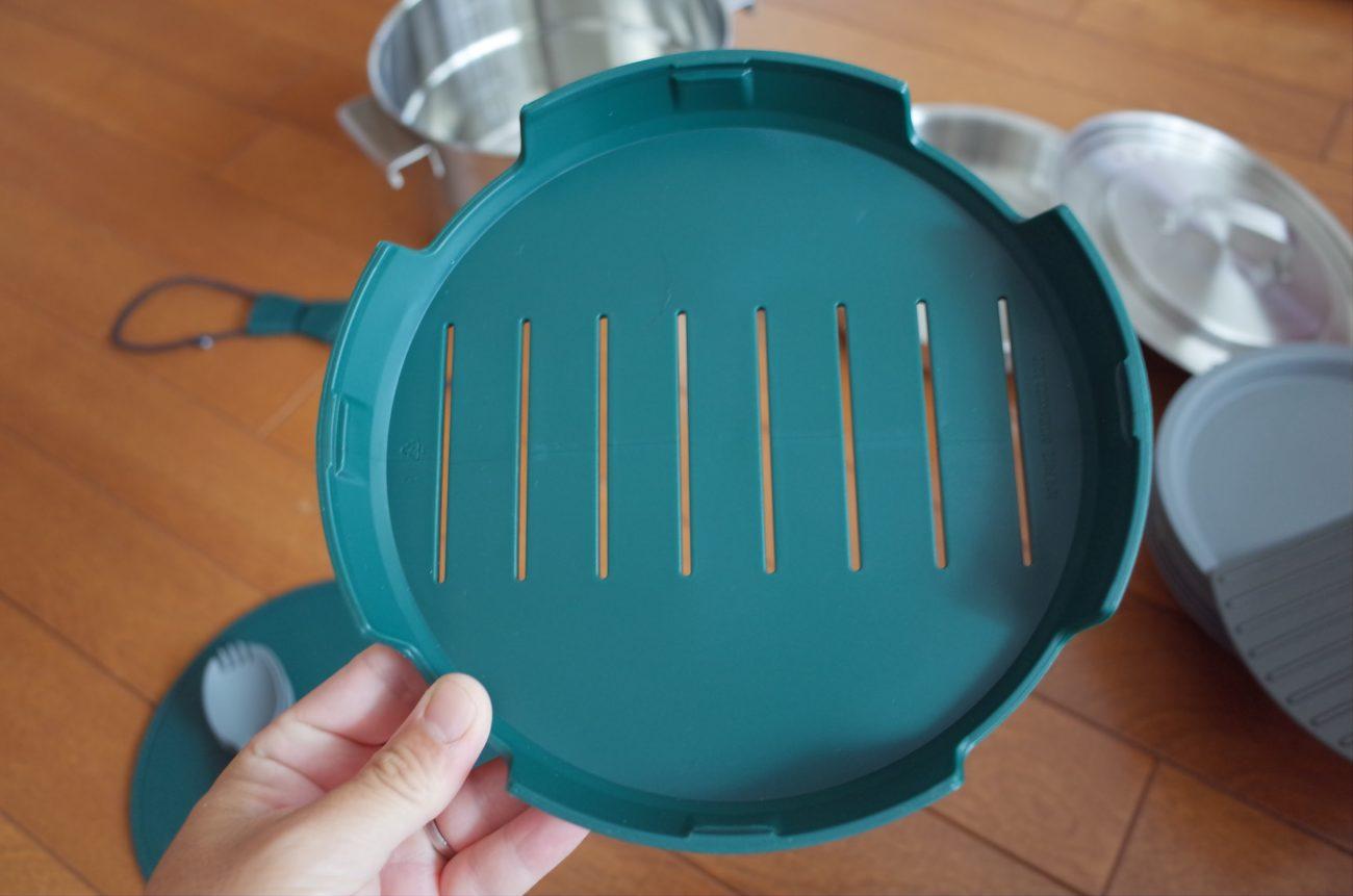 食器乾燥用の容器